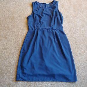 Japna gently worn blue midi dress